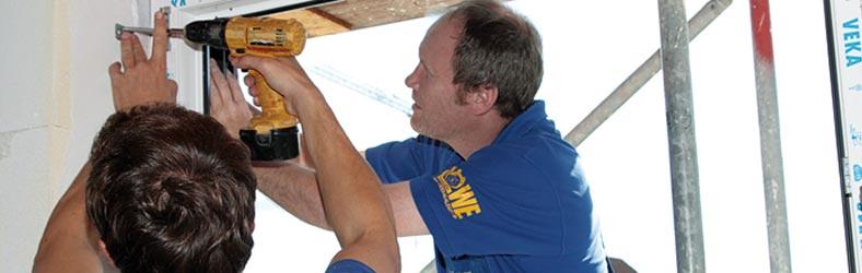 Herstellung und Montage von Fenstern und Türen