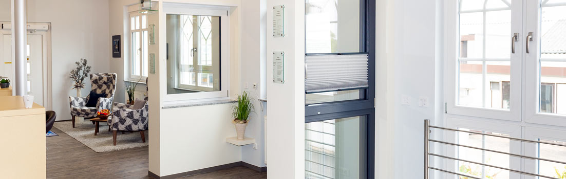 LÖWE Fenster und Türen - Ausstellung in Kleinwallstadt