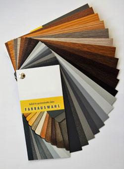 LÖWE Fenster Farbfächer Vorzugsfarben