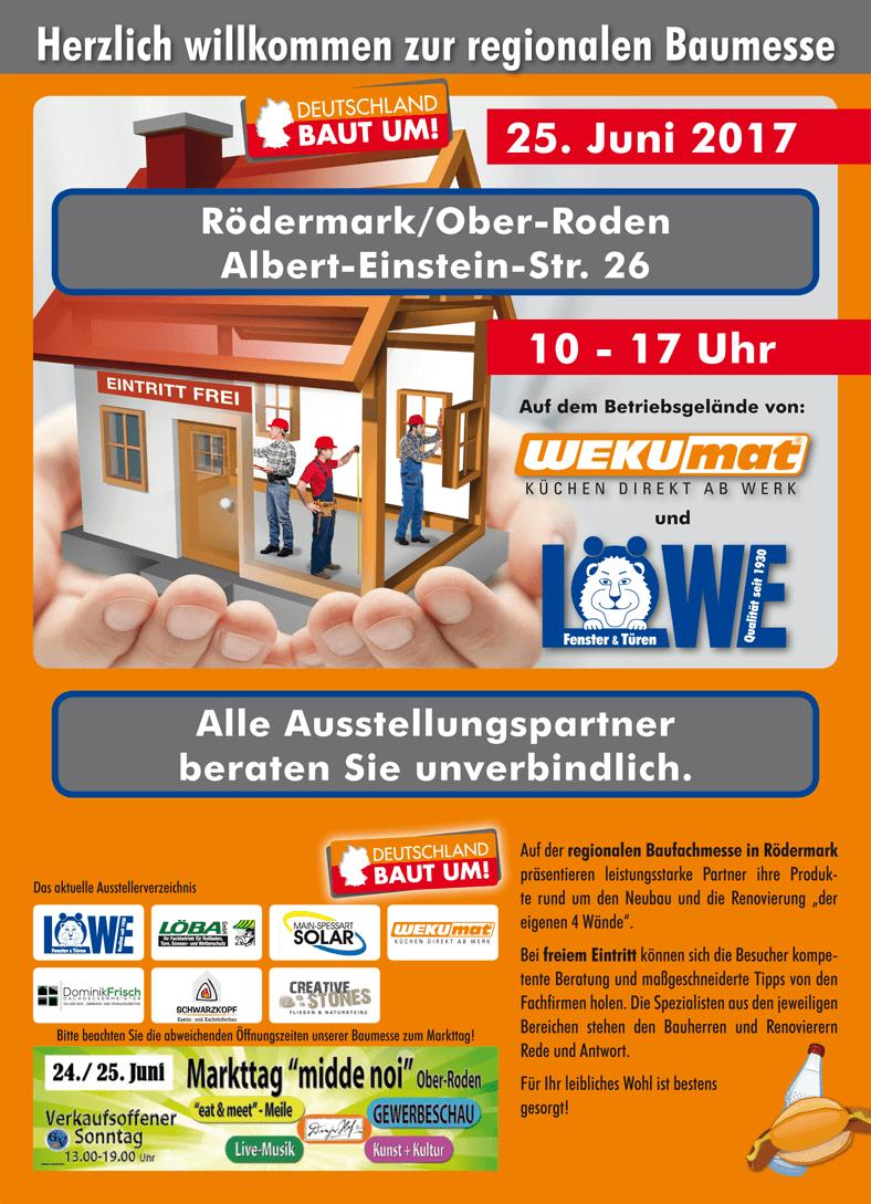 Regionale Baumesse - Rödermark/Ober-Roden am 25. Juni 2017