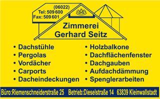 Zimmerei Gerhard Seitz